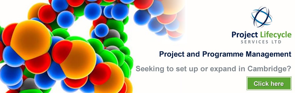 Project Lifecycle Services Ltd - Project and Programme Management - Seeking to set up or expand in Cambridge? Click here.